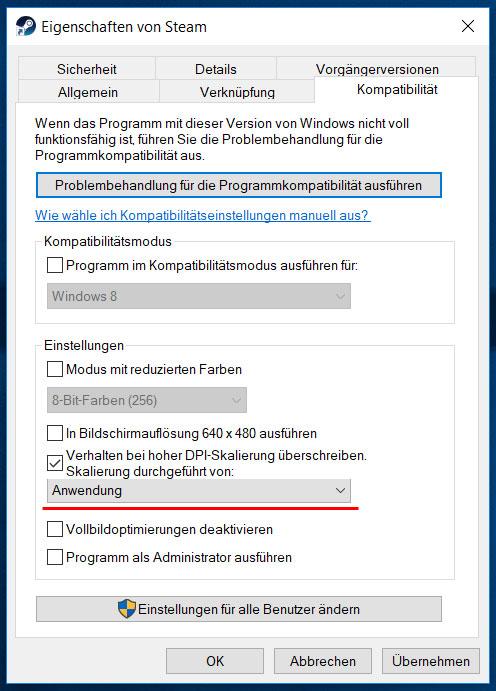 Windows-Kompatibilitaet-DPI-FIX