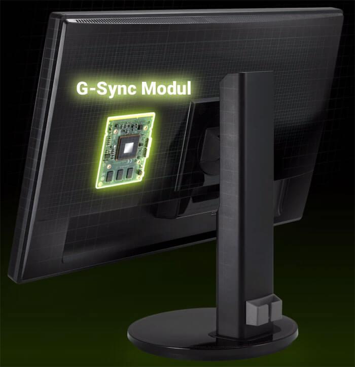 G-Sync-Modul-im-Monitor
