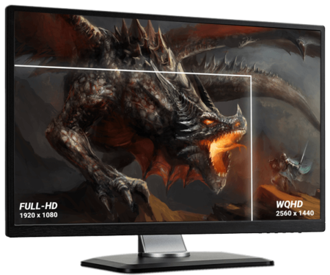 WQHD Monitor Test - Kauftipps für den besten 1440p Gaming-Monitor 2018