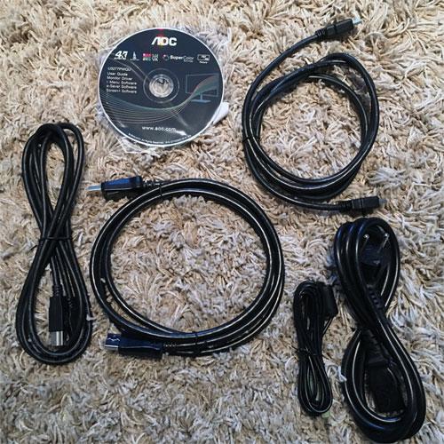 AOC-U3277PWQU-lieferumfang-kabel