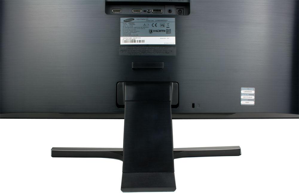 Samsung-U28E590D-Rueckseite