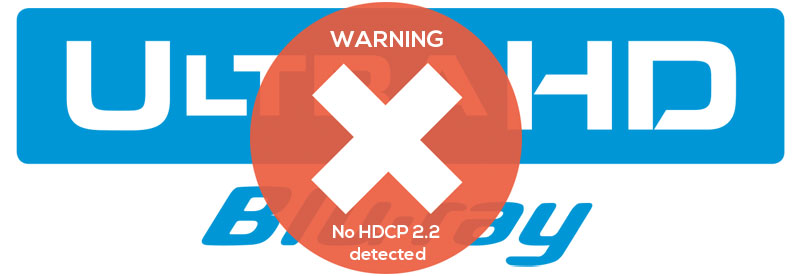 Kein HDCP 2.2 Support