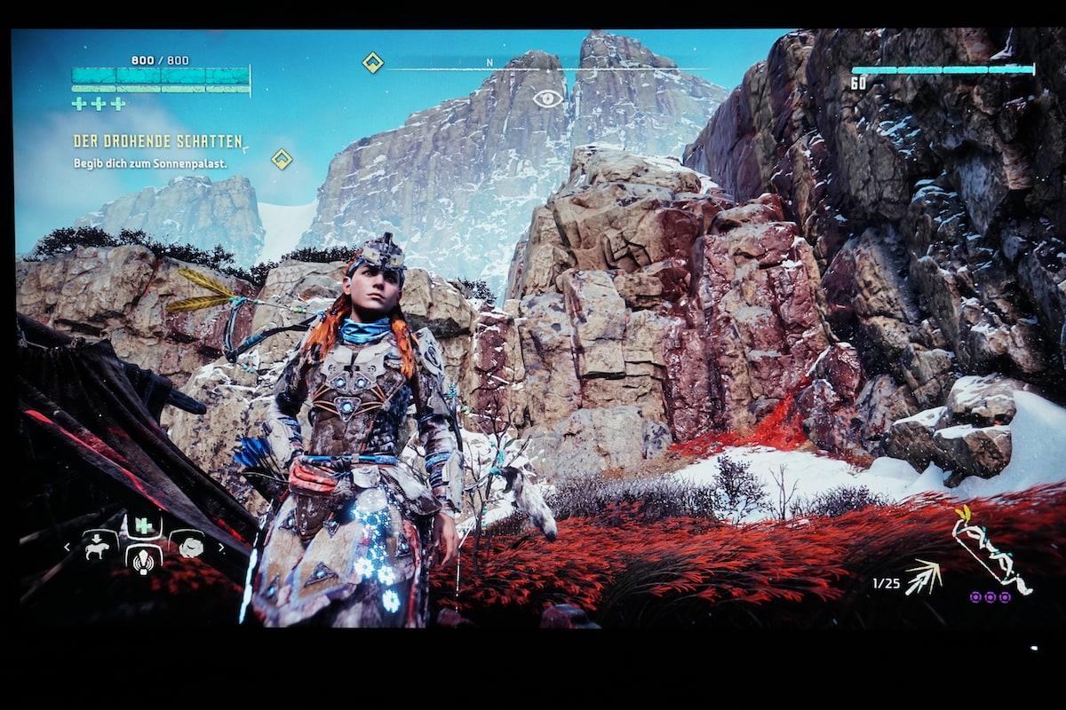 BenQ PD3220U Gaming Horizon Zero Dawn